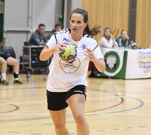 VIKTIG: Christina Solheim Andersen blir viktig for Oppsal de to kommende sesongene.