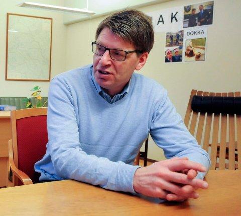 KORONA: Ola Tore Dokken følger spent med på karantenen på Riisby behandlingssenter.