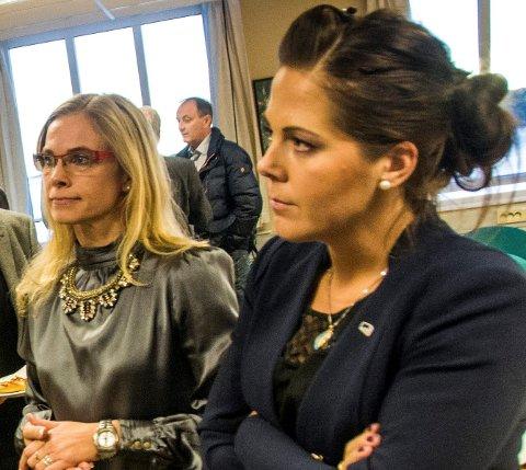 MØTE: Høyres gruppeledeer Birgitte Gulla Løken og Stortingsrepresentant Lene Camilla Westgaard-Halle skal sammen med andre politikere lytte til serveringsbransjen.