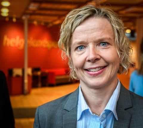 Hanne Nordgaard, administrerende direktør i Helgland Sparebank.