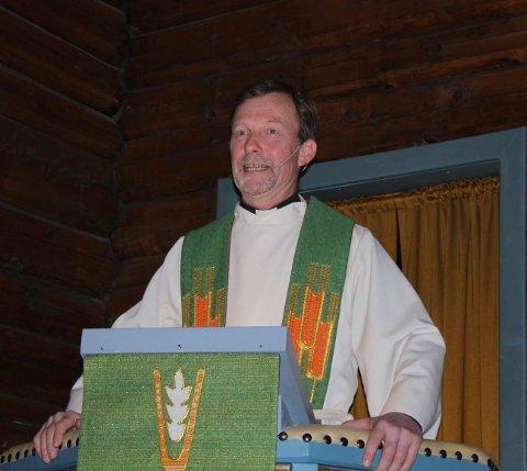 STREIKER: Ragnar Elverhøi, sogneprest i Hurum håper partene kommer frem til en enighet så raskt som mulig.