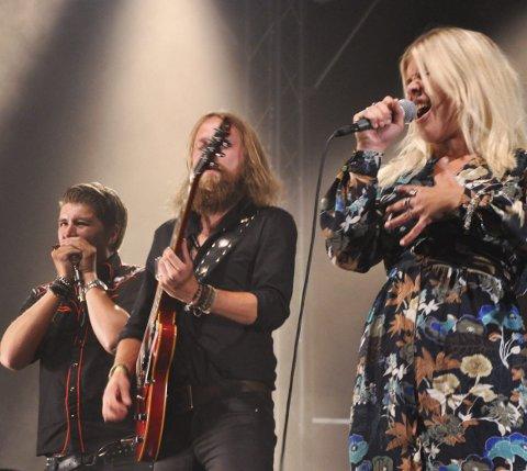 Åpnet: Lisa Lystam og litt familien - her fra åpningen av Notodden Blues Festival i 2016..