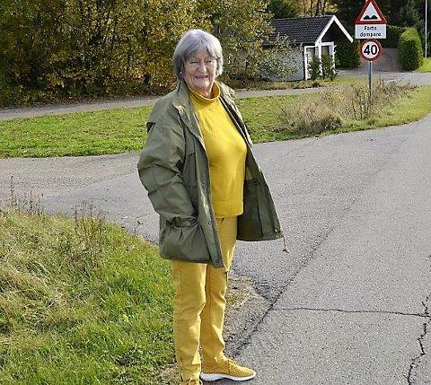 REAGERTE: - Jeg reagerte da meldingen var på norsk, sier Inger Heldal Anderson.