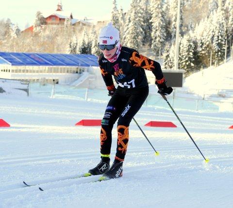 I toppen: Martin Jørstad Ringli ble østlandsmester på sprinten, mens kompisen Tobias Gigstad-Bergene tok seg av normaldistansen i Folldal.