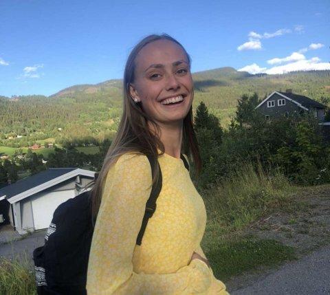 Flyttet: Maiken Kollsgård Dyve har nylig flytta til Trondheim for å studere kjemi.