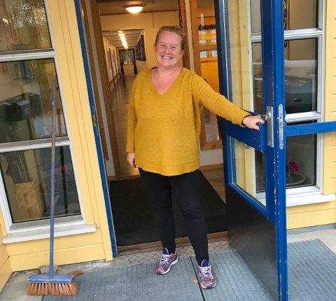 Velkommen inn: Jane Edvardsen er veldig glad for den positive responsen hun har fått på Facebook-etterlysningen sin.