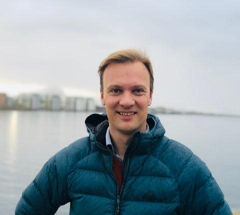 Førstekandidat i Nordland Høyre, Bård Ludvig Thorheim, er glad for pengene til veioppgradering.