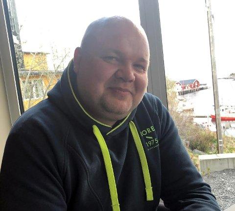Håvard Kristiansen, fra Sortland, som er sametingskandidat for Nordkalottfolket.