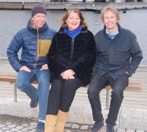 BÅDE OG: Marius Schulze (t.h.) kommer inn i kommunestyret sammen med Anlaug Lia og bror Per-Erik Schulze. Marius blir også i finne på fylkestinget for Vestfold og Telemark.
