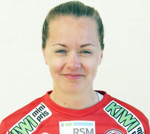NY SESONG: Ingrid Altermark, eks B&Y IL og Medkila, føler hun utvikler seg som spiller i Arna /Bjørnar. Foto: Privat