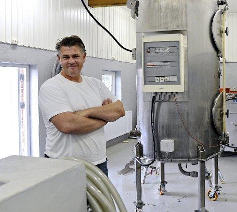 Kjell-Eric Andersen har pågangsmot og kunnskap om øl.