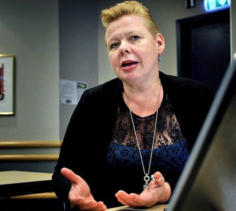 Siv H. Jacobsen, Østfold Arbeiderparti. (Foto: Jarl M. Andersen)