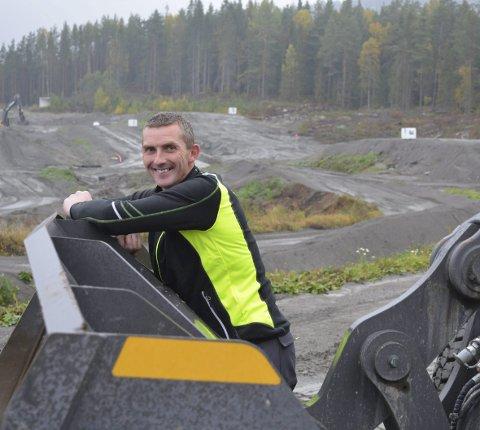 EM-RUNDER: - Sikkerhestmessig og fysisk er banen nå en bane som kan få EM-runder, sier Sigmund Kasin.