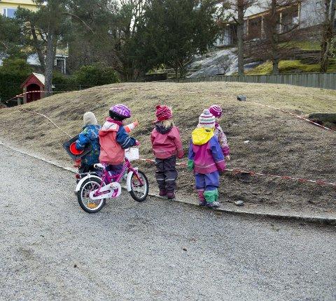 Det har skjedd mye positivt i barnehagesektoren, men det er langt i fra godt nok, skriver ledere i Utdanningsforbundet. Arkivbilde: Magne Turøy
