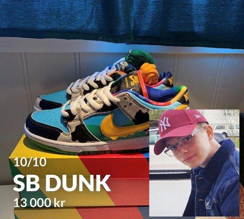 Henrik Sjøset leter konstant etter designervarer, og tjener gode penger på det
