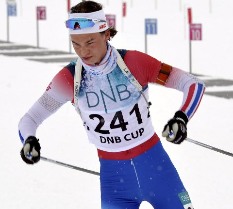 Vingrom-løperen Peder Owren gikk inn til 14. plass.