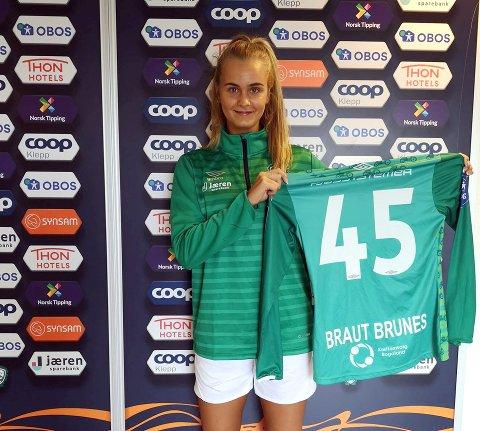 CUP MOT VIKING: Emma Braut Brunes meldte for noen dager overgang fra Bryne til Klepp.