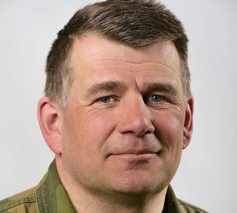 SJEF: Ole Kristian Karlsen er utnevnt til oberst og ny sjef i Nord-Hålogaland heimevernsdistrikt 16. Foto: Ole-Sverre Haugli/Hærstaben