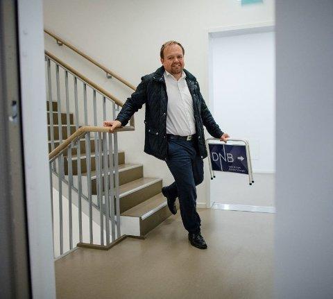 VÆR ÆRLIG: André Øren i DNB Eiendom advarer mot å sminke på virkeligheten om tilstanden til boligen.