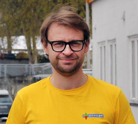 Vegard Botterli, nyansatt kommunikasjonsrådgiver hos Norsøk.