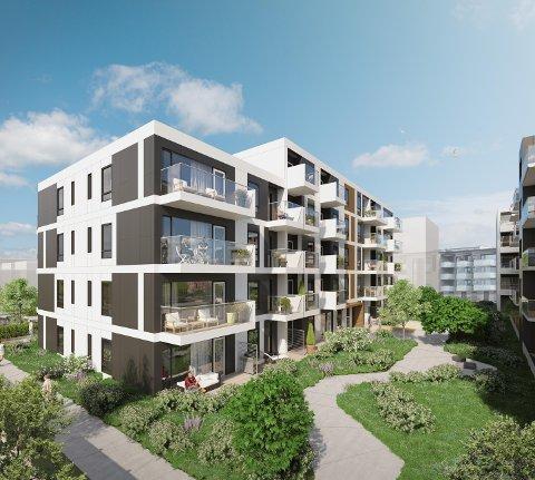 SALGSREKORD: Selvaag har solgt 43 av 61 leiligheter i Dockside Hus D siden august.