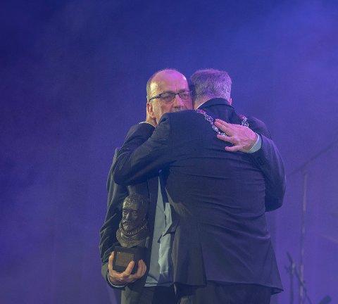 Kong Frederiks Hederspris 2019 gikk tildelt Terje Brevik. Bildet er fra prisutdelingen i januar i år.