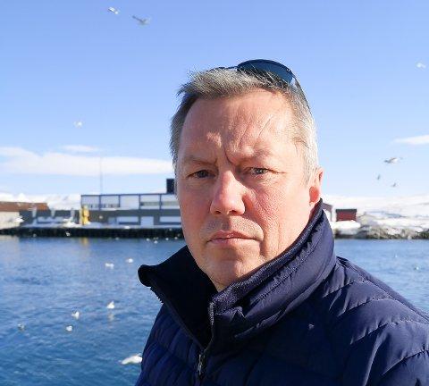 BEKREFTER: Ordfører Ronald Wærnes i Båtsfjord bekrefter at en mann i kommunen har testet positivt for Covid-19.