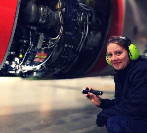 SKIFTET RETNING: I likhet med mange andre har Aleksandra Fjuk (25) fra Jessheim skiftet yrkesretning.
