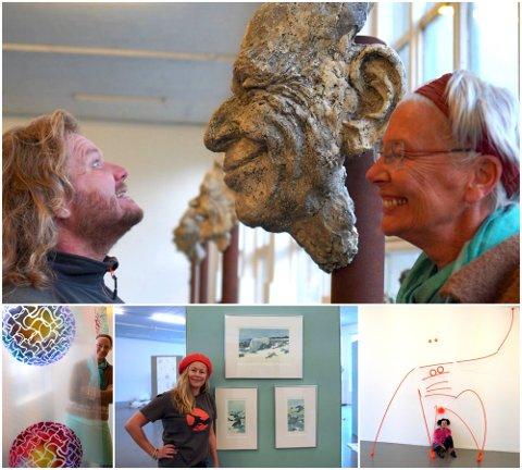 FORSKJELLIG: I Momentum kunsthall vises utstillingen «Me Mori Mentum» med en rekke varierte uttrykk.