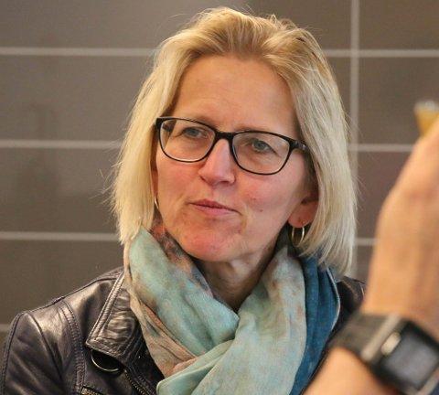 I TROMSØ: Generalsekretær Karen Kvalevåg gjestet Tromsø onsdag.