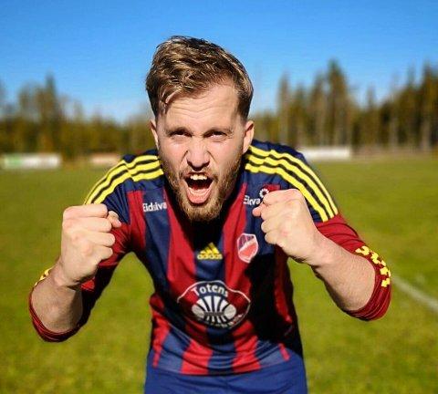 KAMPKLAR: Eina-trener Henning Raae er klar for seriefinale mot Brandbu torsdag kveld.