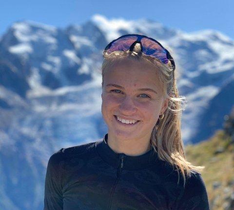 SPESIELL TID: Nora Doksrød har flere store mål for 2021 og håper de lar seg gjennomføre.