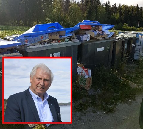 Arild Hansen er både styreleder i Lyseren Samarbeidsutvalg LSU og formann i Hemnes Vel-Lyseren. Han sier ordningen er viktig, og at de gjerne skulle ønsket seg flere containere.
