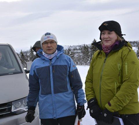 Innspill: Pål Gjenum og Silje Fekjar Nilsson i Flåtevatnet hyttevelforening ønsker justeringer, spesielt for Snelletjernvegen.