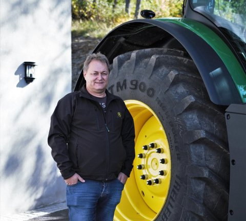 PÅ TOPP: Erik Martin Berge driver med eiendomsutvikling, bingo og maskinentreprenør, og tjener mest, skatter mest, og troner øverst på formuetoppen i Vestre Slidre.
