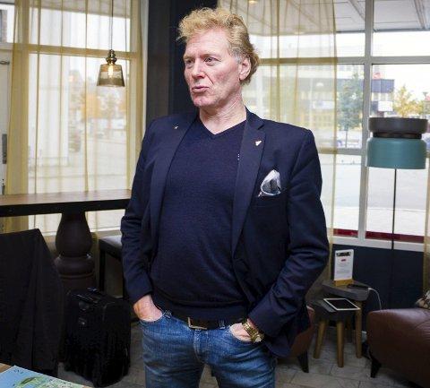 Johnny Ingebrigtsen, leder i Nordkapp SV.