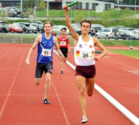 Mauritz Kåshagen løper Moelven inn til sølv etter Gular.