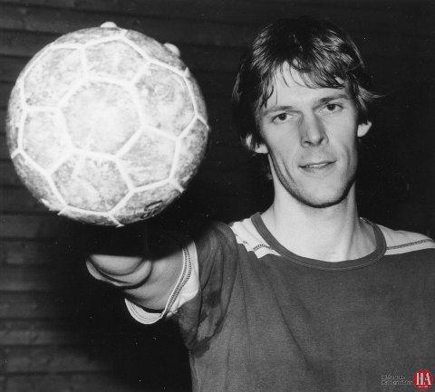 DRØMMELAG: Odd Petter Nilsen spilte på 14 sesonger på A-laget til Halden IL på 70- og 80-tallet.