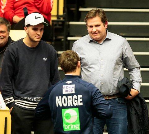 Pappa Erlend Sagosen blir ny Kolstad-trener.
