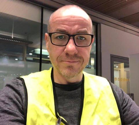BIDRAR: Tidligere ordfører i Ullensaker kommune, Tom Staahle, er blitt en del av helseteamet på Oslo lufthavn.