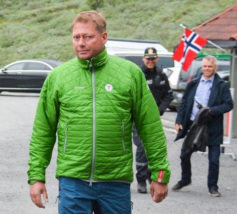 SISTE MULIGHET: Daglig leder i DNT Telemark, Jon Atle Holmberg, sier lørdagens nattevandring til Gaustatoppen til den siste.