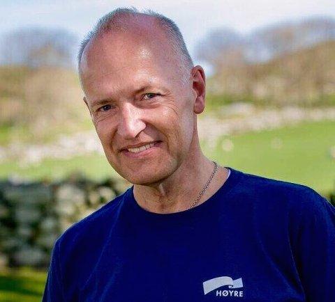 Frank-Arild Normanseth fra Renensøy er en av to nestledere i Nye Stavanger Høyre.