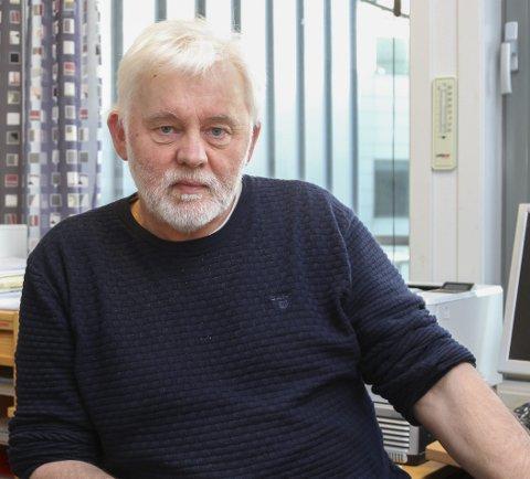 STATUS: Kommuneoverlege Jan Helge Dale slår fast at ingen i Kinn er så langt smitta med koronaviruset.
