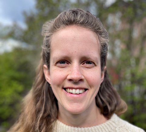 RØDT: Kristin Kvadsheim på 5. plass.