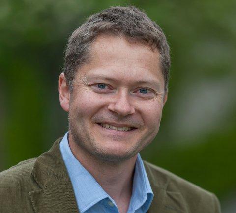 Ny Jobb: Eivind Lien starter som kommunalsjef for økonomi og virksomhetsstyring i Lier kommune i august.