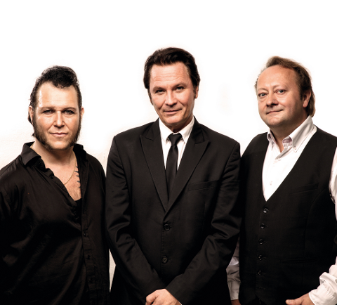 TIL MOSS: The FAB-3 skal hylle Elvis med gospel i Jeløy kirke i høst.