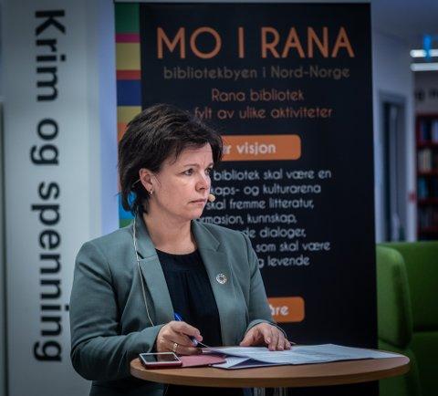 Kommunikasjonssjef i Rana kommune, Connie Slettan Olsen.
