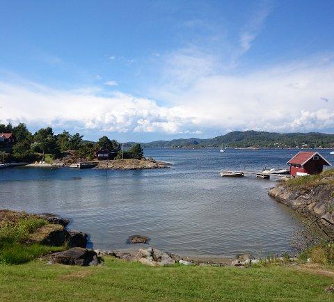 KAN ØDELEGGE: Hytteeiere på Siktesøya er bekymret for at en planlagt mast kan komme til å ødelegge naturopplevelsen.