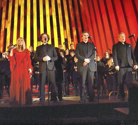 Styrer unna Nordmøre: Hanne Krogh og hennes tenorer har besøkt Kirkelandet kirke flere ganger. I fjor sto de over - det samme er tilfelle i år.