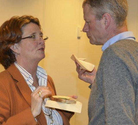 Støttespiller: Anne Killingmo og Knut Aall har vært enige om mange saker i lokalpolitikken.